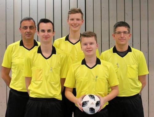 Schiedsrichter starten ins Fußballjahr 2019!