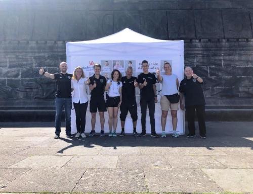 Schiedsrichter des Kreises Koblenz ehrenamtlich bei Taschenlampenkonzert